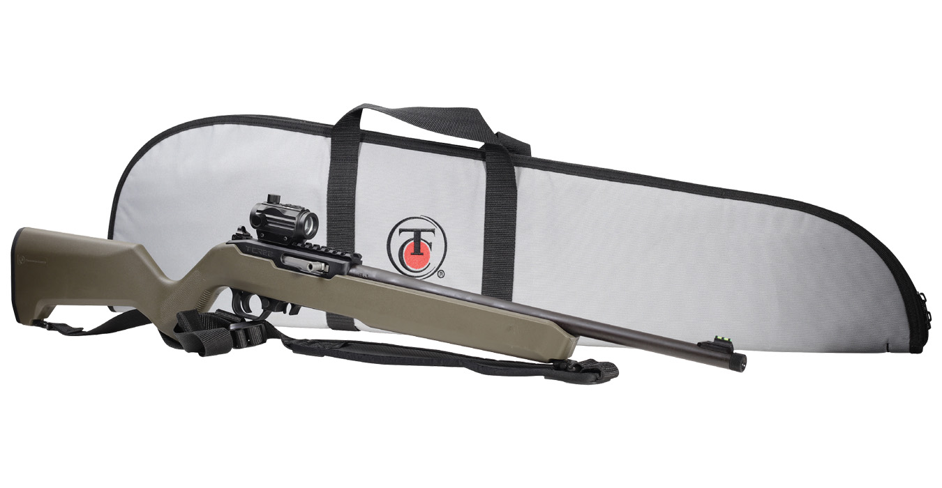 T/CR22 22LR RIFLE BUNDLE WITH RED DOT/CASE/SLING