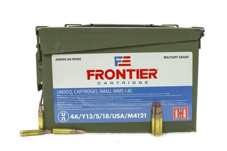 Hornady 223 Rem 55 gr Hollow Point Match 500 Rounds with Ammo Can