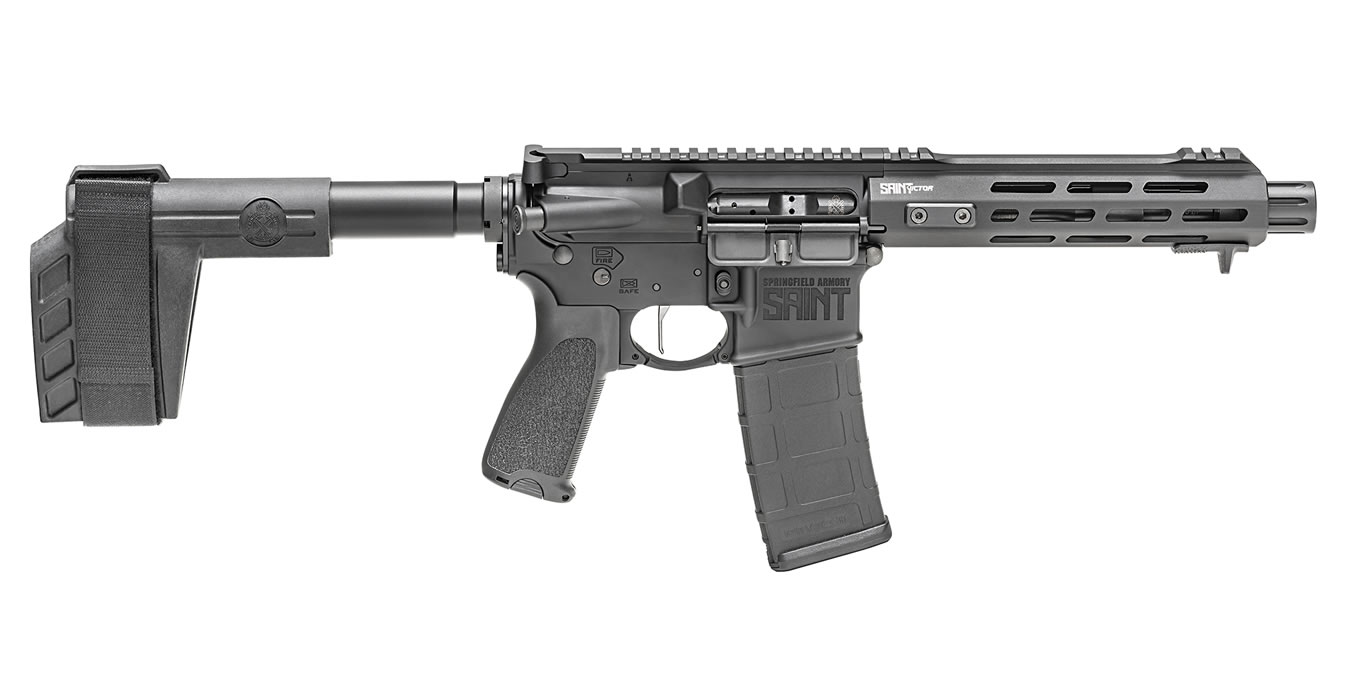 SAINT VICTOR 5.56MM 7.5` PISTOL BLACK