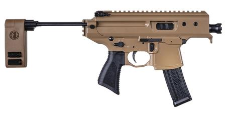SIG SAUER MPX COPPERHEAD 9MM FLAT DARK EARTH PISTOL
