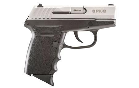 CPX-3 380 ACP PISTOL WITH STAINLESS SLIDE