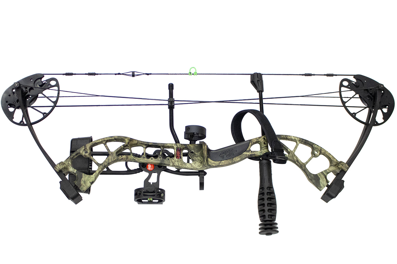 Uprising Ready to Shoot Package, Right Handed in Mossy Oak Country, 27-50  Compou