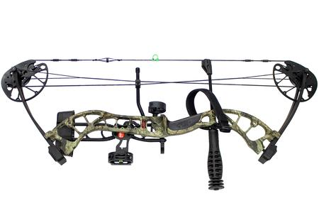Pse Uprising Ready to Shoot Package, Right Handed in Mossy Oak Country,  27-50 Compou