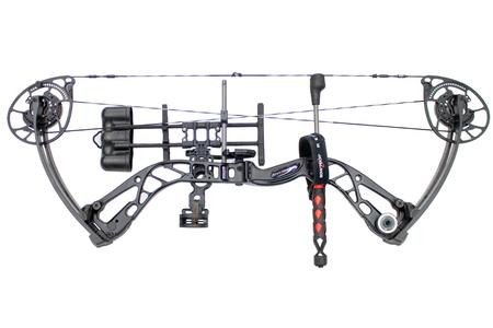 Bowtech Convergence Right Handed 8 70 lb Black Compound Bow Package
