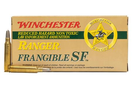 WINCHESTER AMMO 223 Rem 55 gr Ranger Frangible SF Police Trade-In Ammo 20/Box