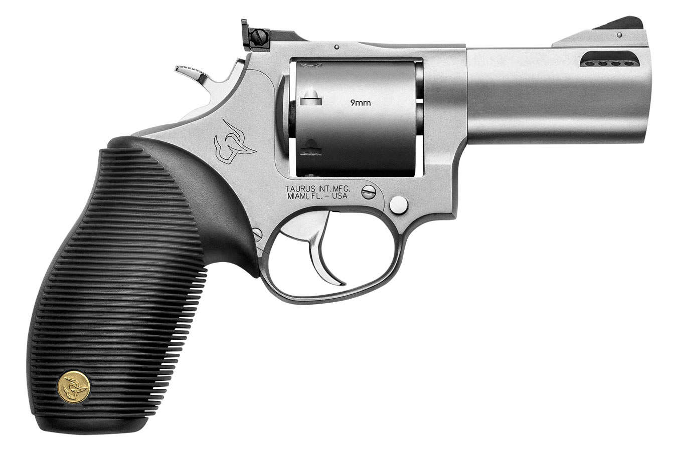 692 38/357/9mm DA/SA Revolver with Matte Stainless Finish