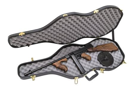 AUTO ORDNANCE 1927A-1 DELUXE CARBINE 45 CAL 50 RND DRUM AND 20 RND STICK MAG VIOLIN CASE PACK
