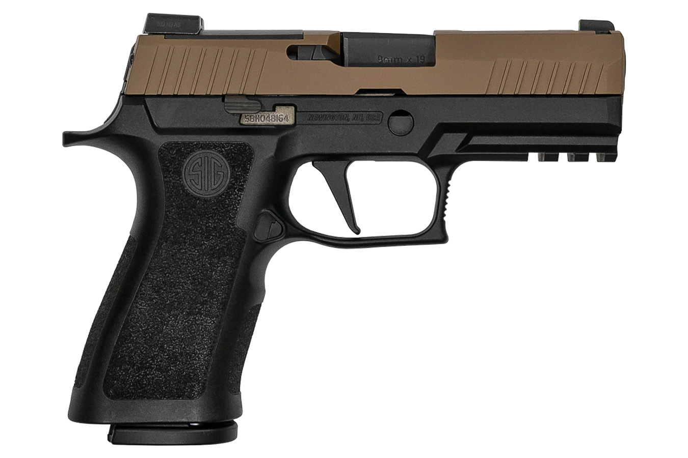 P320 X-CARRY 9MM COYOTE TWO TONE