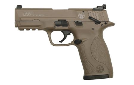 SMITH AND WESSON MP22 COMPACT 22LR FDE CERAKOTE