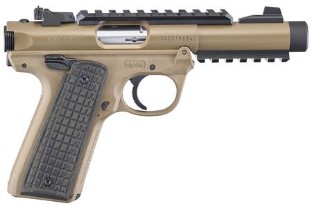RUGER MARK IV 22/45 TACTICAL 22LR FDE
