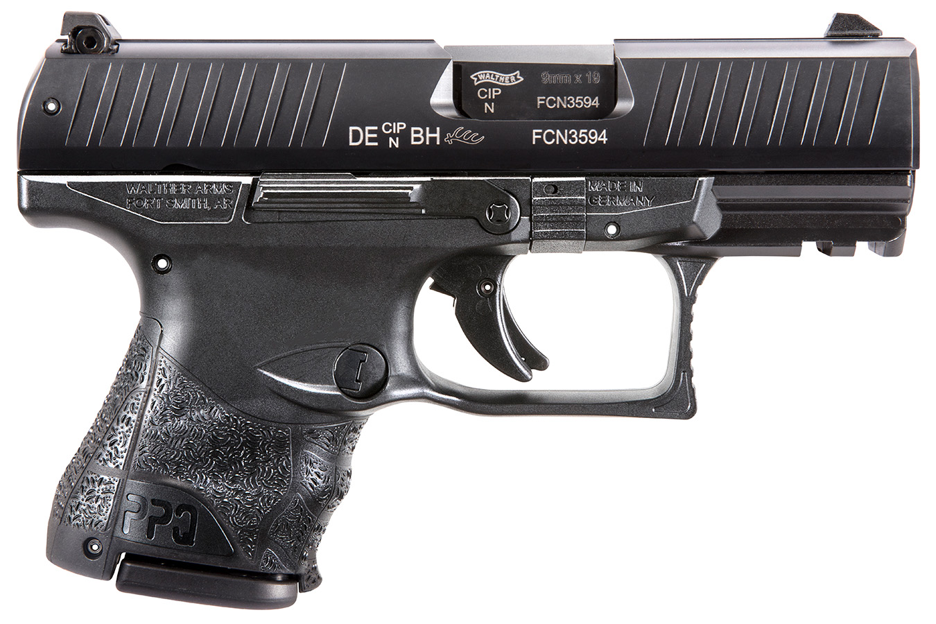 PPQ M2 9mm Sub-Compact LE Edition with Three Magazines and Phosphoric Night  Sights