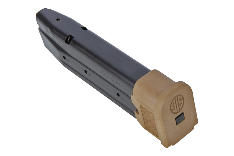 SIG SAUER MAGAZINE 320 9 FULL 21 RD  M17 COYOTE