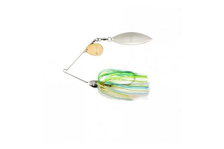 Booyah Bait Co Vibra Wire Tandem Spinner Bait 3/9 Oz