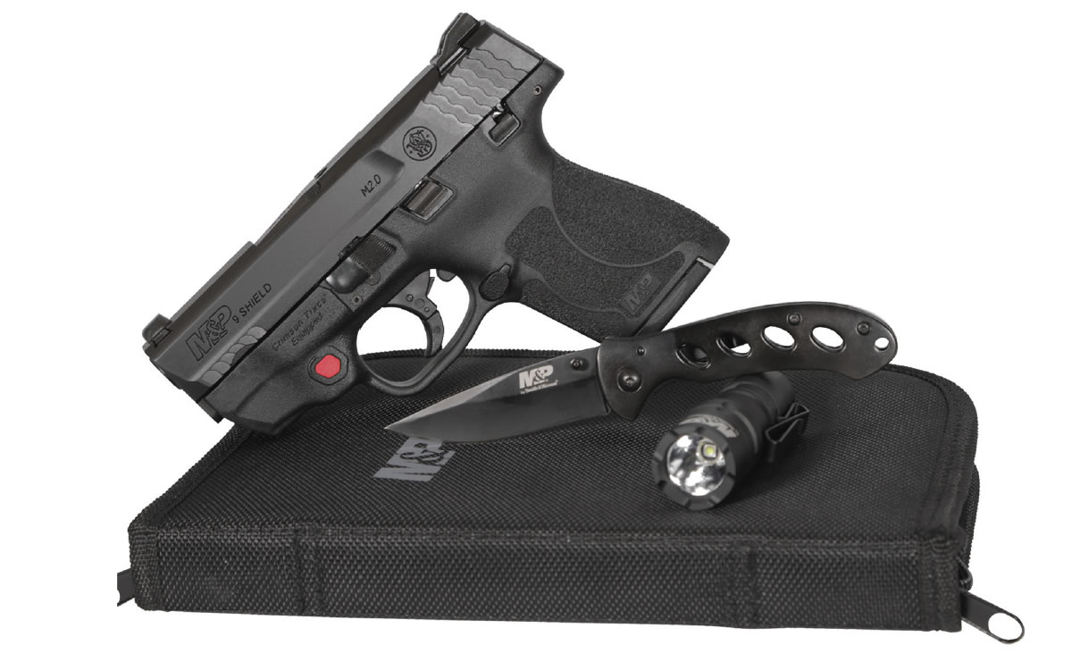 No. 8 Best Selling: SMITH AND WESSON MP9 SHIELD M2.0 9MM LASER EDC KIT