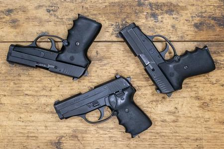 Sig Sauer P239 DAO 40 S&W Police Trade-In Pistols (Fair Condition)
