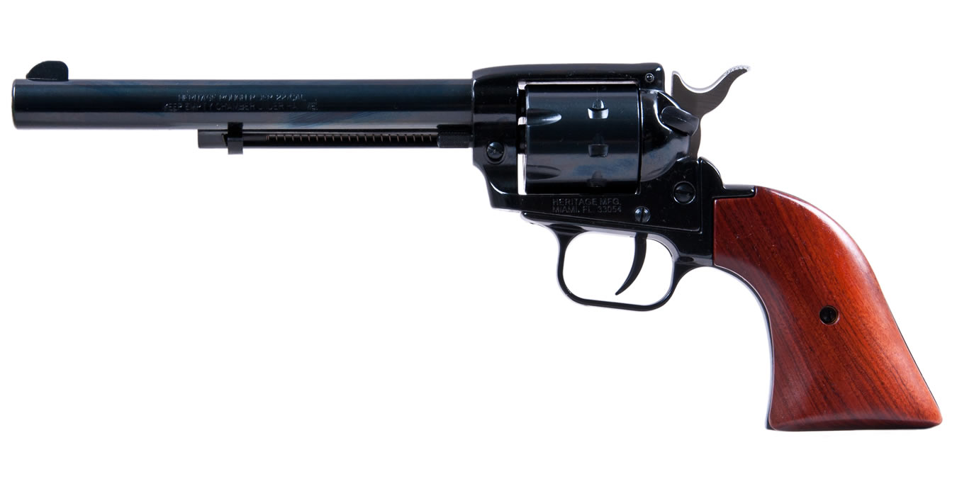 No. 14 Best Selling: HERITAGE ROUGH RIDER 22LR/22WMR 9-SHOT REVOLVER