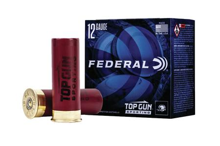 FEDERAL AMMUNITION 12 Gauge 2 3/4 inch 1oz 7.5 Shot Top Gun Sporting 25/Box