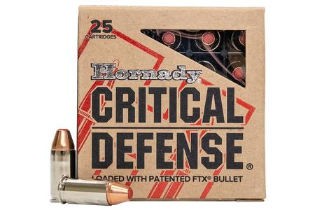 HORNADY 32 AUTO 60 gr FTX Critical Defense 25/Box