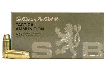Sellier And Bellot 9mm Subsonic 140 gr FMJ 50/Box