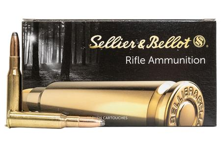 SELLIER AND BELLOT 7.62x54R 180 gr Soft Point 20/Box