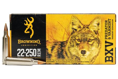 BROWNING AMMUNITION 22-250 REM 50 gr BXV 20/Box