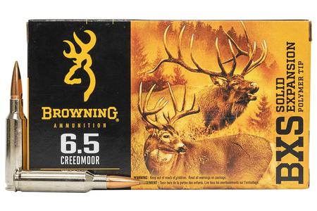 Browning 6.5 Creedmoor 120 gr BXS Solid Expansion 20/Box