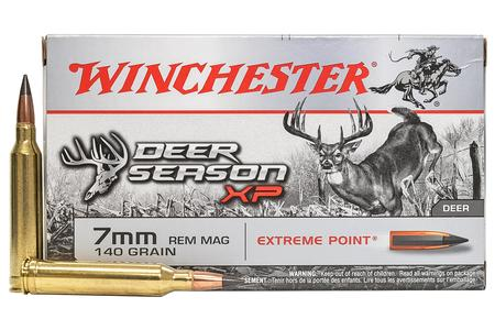 Winchester 7mm REM MAG 140 gr Extreme Point Deer Season XP 20/Box