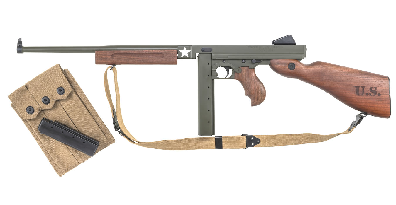 M1 Carbine Tanker WWII Thompson  45 Cal