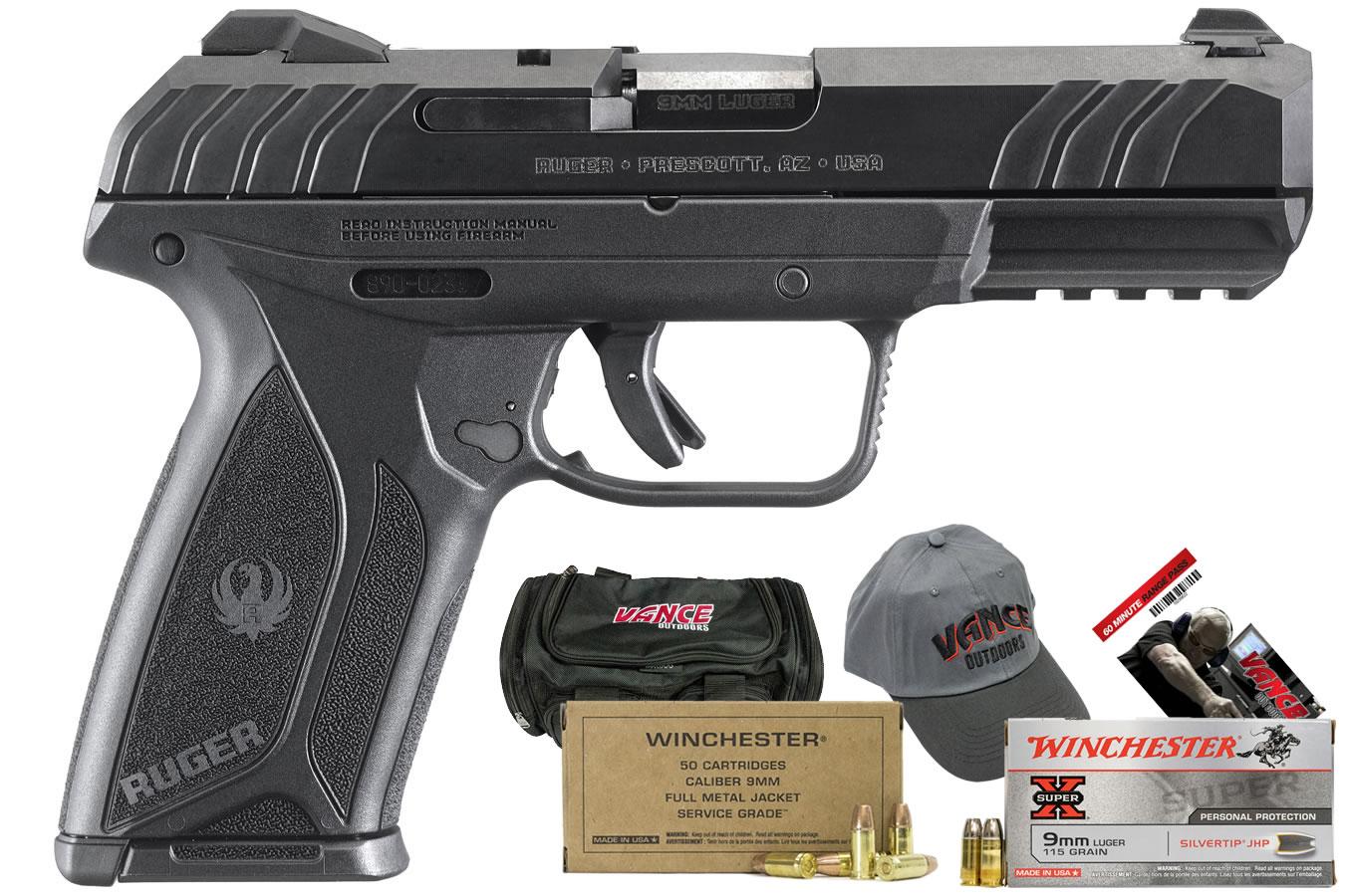 Ruger Security-9 9mm Pistol Range Package