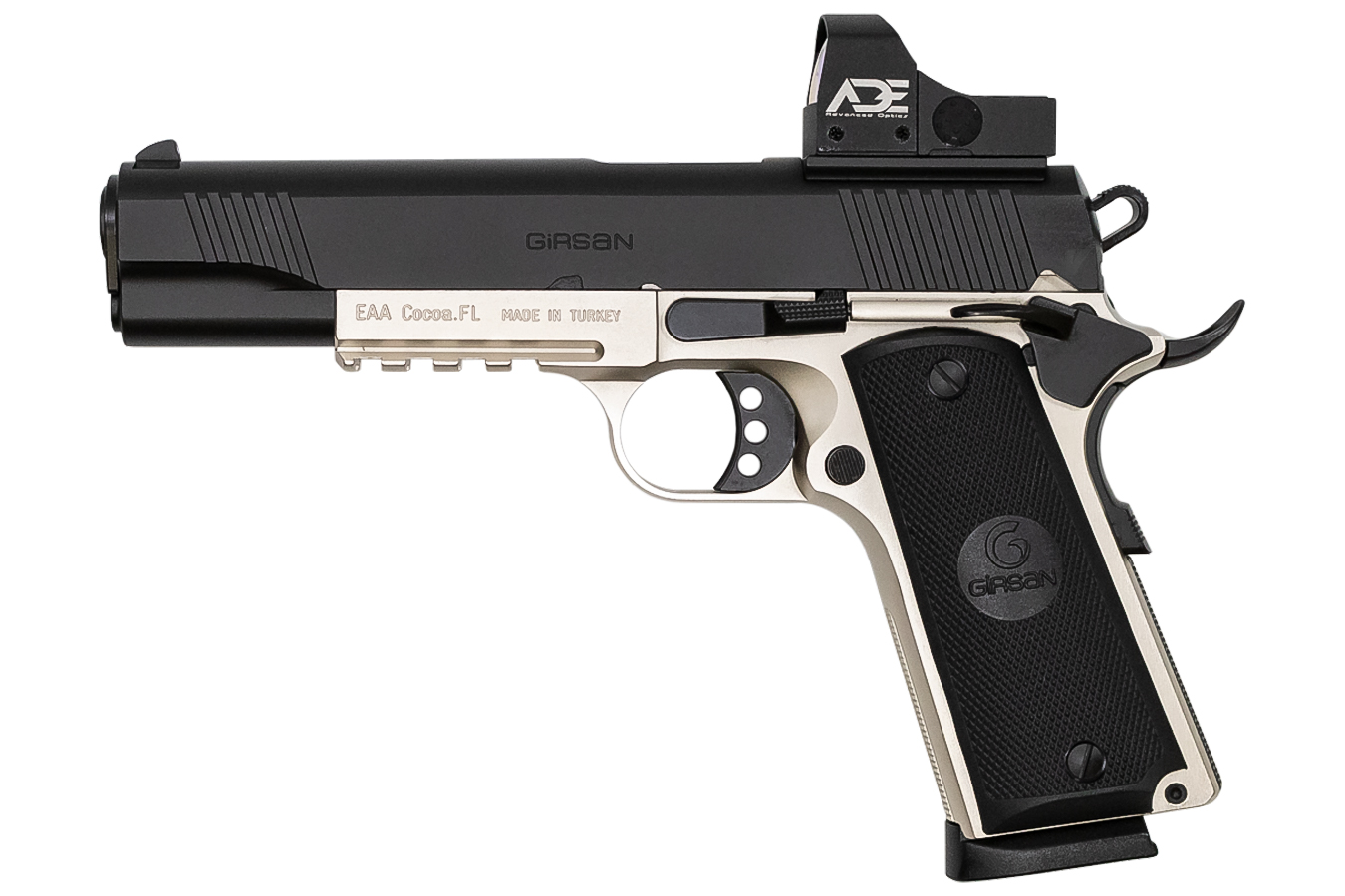 GIRSAN MC1911S GOV. TWO-TONE OPTIC 45ACP