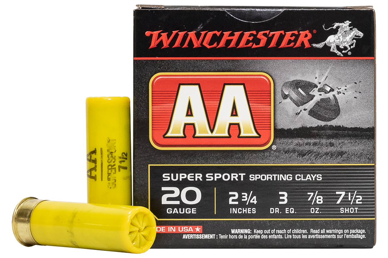 20 GA 2-3/4 IN 7/8 OZ SPORTING CLAYS
