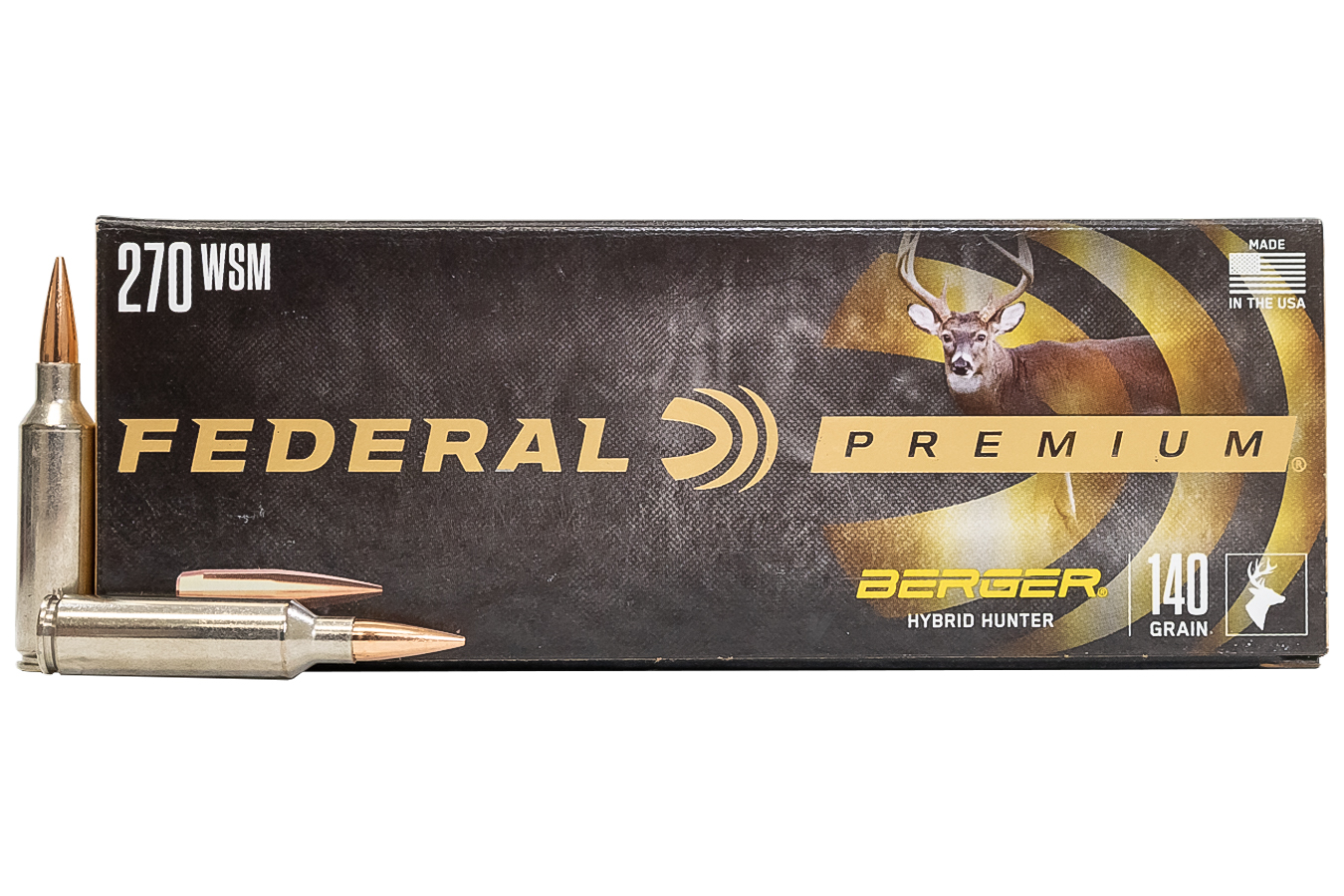 270 WSM 140 GR BERGER HYBRID HUNTER