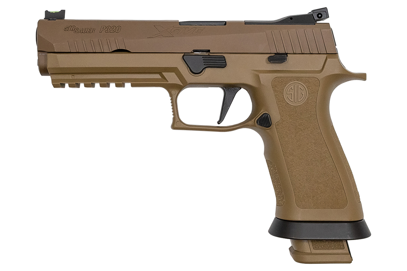 P320 X-FIVE COYOTE 9MM STRIKER-FIRED PISTOL
