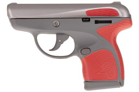 TAURUS Spectrum .380 Auto Gray/Stainless Pistol with Red Grips
