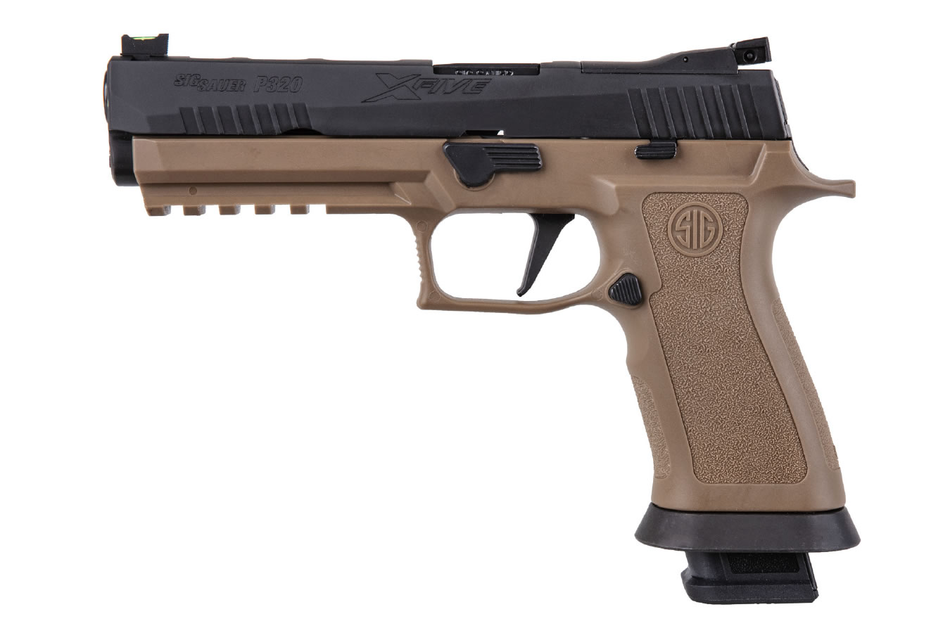 P320 X-FIVE 9MM REVERSE TWO-TONE COYOTE