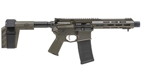 SPRINGFIELD SAINT 5.56MM 7.5` PISTOL OD GREEN