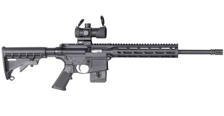 SMITH AND WESSON MP15-22 SPORT OR 22LR W/ OPTIC (10 RD MODEL)