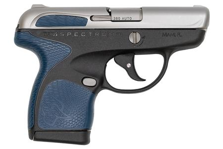 SPECTRUM .380 AUTO BLACK/STAINLESS/BLUE