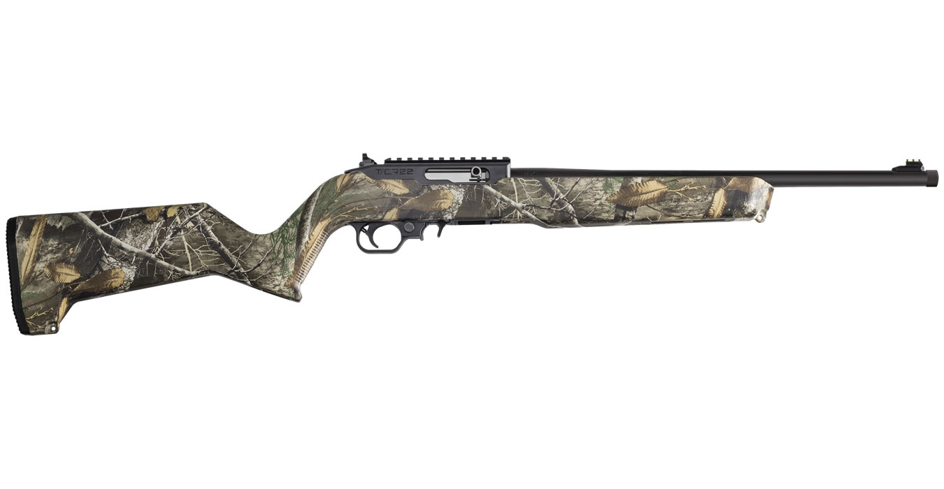 TCR-22 22LR WITH REALTREE EDGE CAMO STOCK