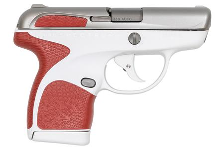 TAURUS SPECTRUM .380 AUTO WHITE/STAINLESS/RED