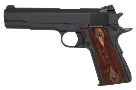 DAN WESSON A2 45 ACP 1911 WITH WOOD GRIPS