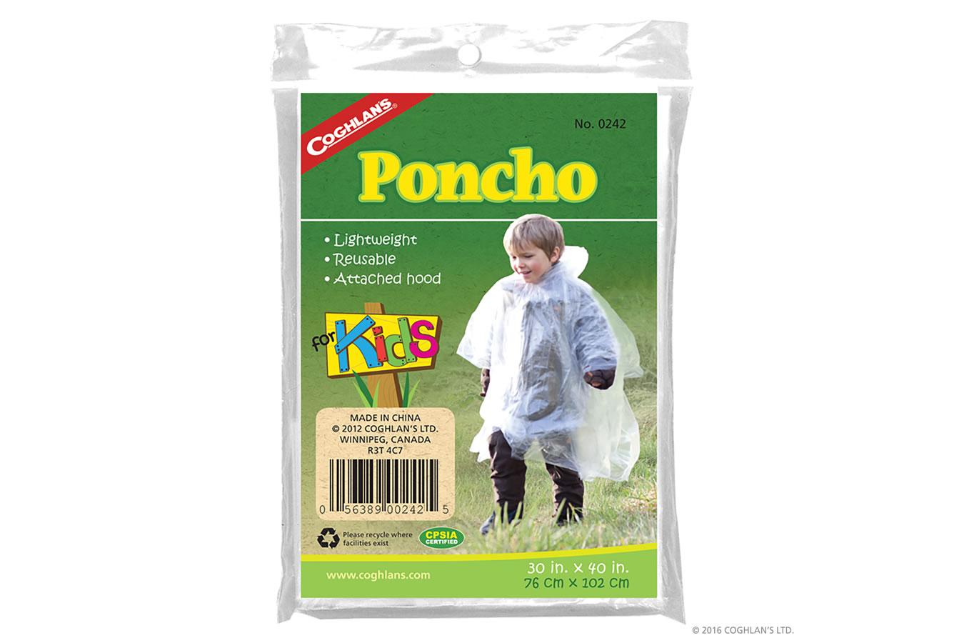 KIDS PONCHO
