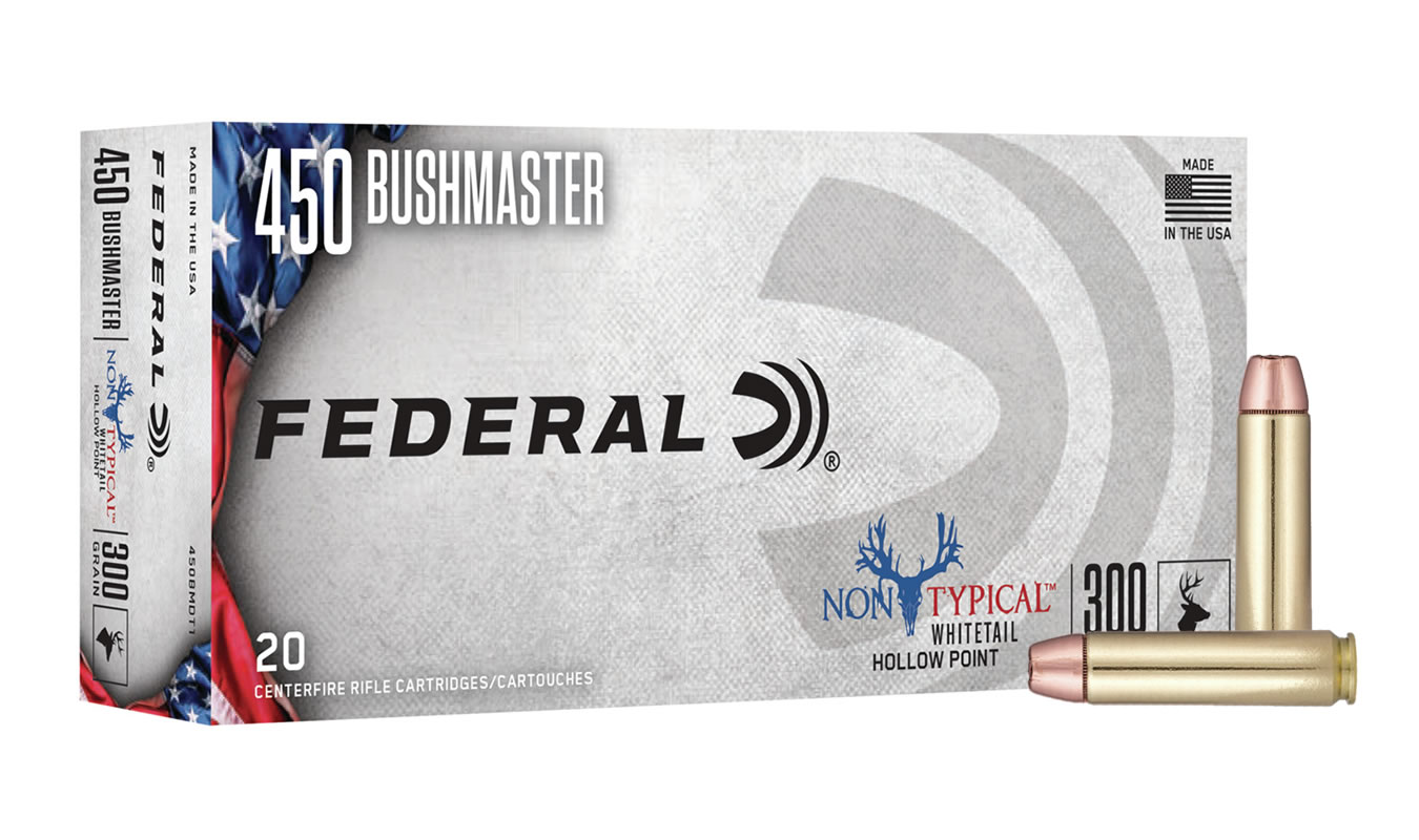 450 BUSHMASTER 300 GR SP NON-TYPICAL