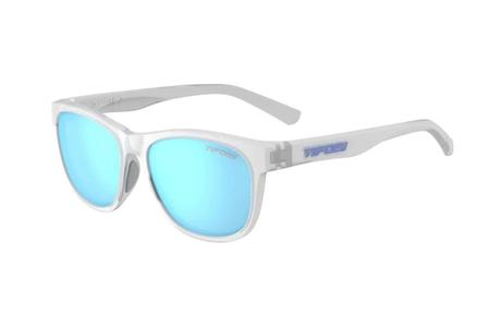 36cf36956110 Tifosi Swank Satin Clear with Clarion Blue Polarized Lenses.  49.95. In  Stock