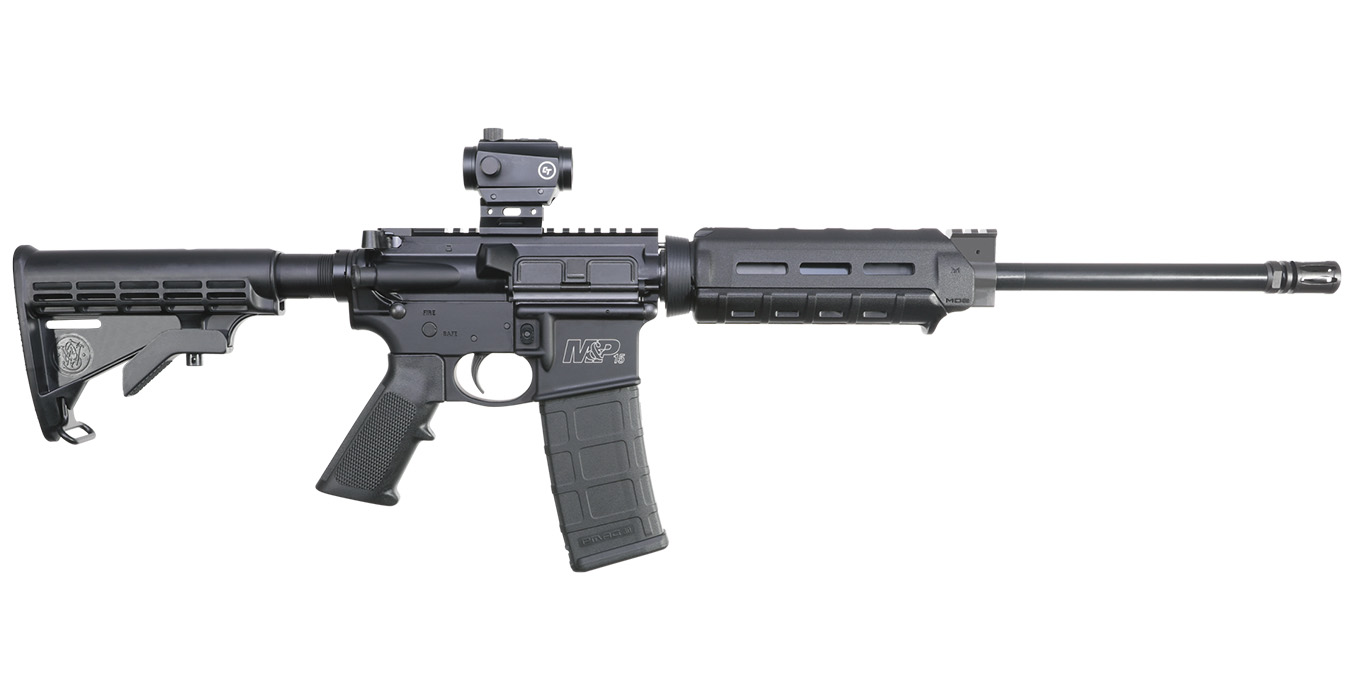 No. 8 Best Selling: SMITH AND WESSON MP15 SPORT II OR M-LOK WITH RED DOT