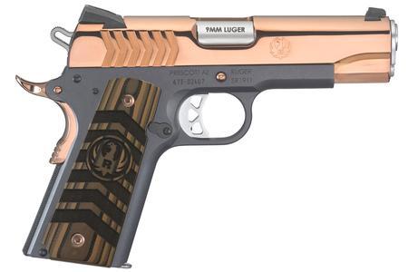 Ruger SR1911 Commander 9mm Rose Gold TALO Exclusive Pistol
