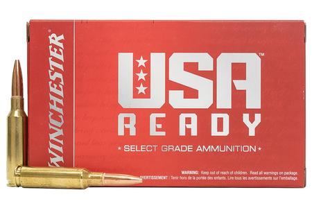 WINCHESTER AMMO 6.5 Creedmoor 125 gr Open Tip USA Ready 20/Box