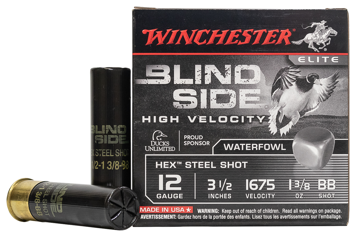 12 GA 3-1/2 IN 1-3/8 OZ BB BLIND SIDE