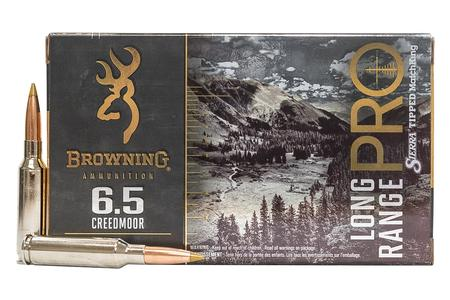 BROWNING AMMUNITION 6.5 Creedmoor 130 gr Boat Tail MatchKing Long Range Pro 20/Box