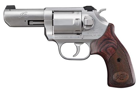 KIMBER K6S 357 MAG DASA 3IN BRUSHED SS W/ WALNUT GRIP